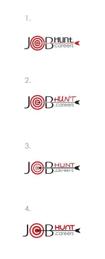 Logo, favicon and website Design for job-hunt.careers