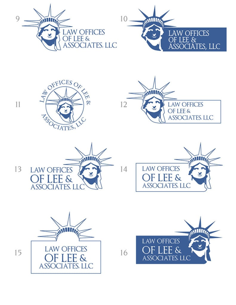 Logo Design for Law Offices of Lee and Associates